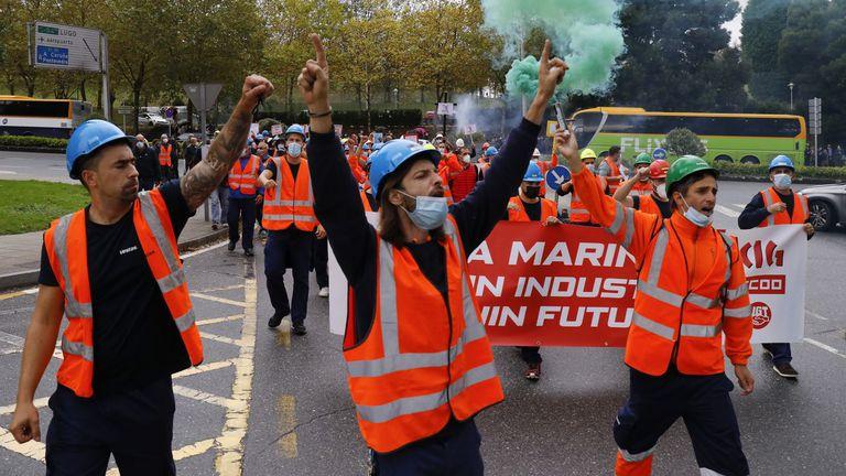 Vestas. Los trabajador@s tenemos la obligación de defender nuestra vida presente y futura.