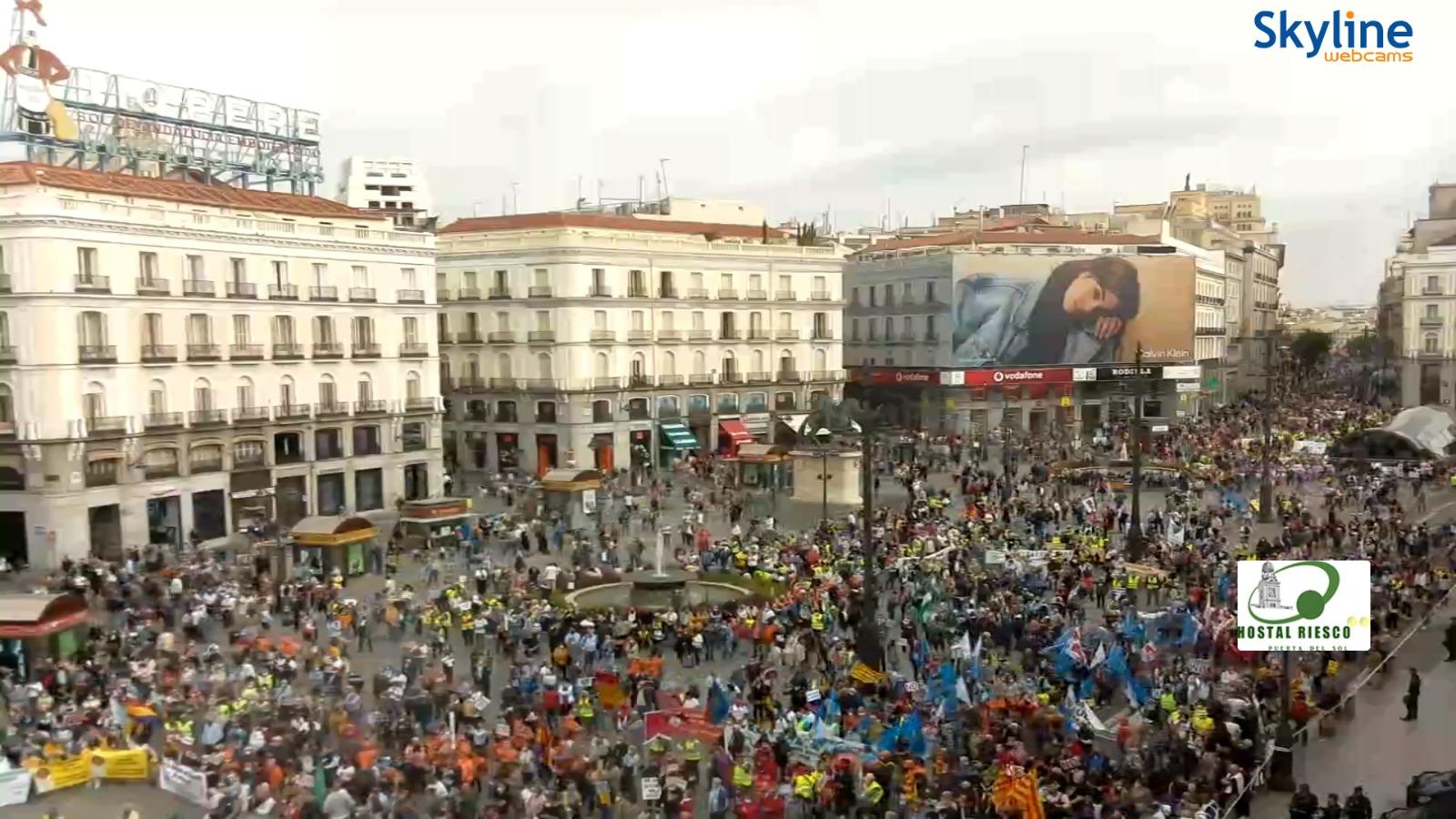 Videos y fotos.16O ¡GRANDES MOVILIZACIONES EN MADRID! ¡Gobierne quien gobierne las pensiones y lo público se defiende!