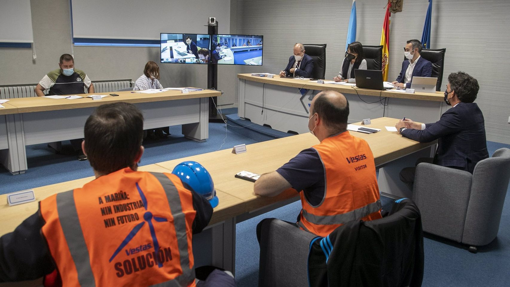 Vestas rechaza las ayudas económicas para un plan industrial en Viveiro (Lugo)