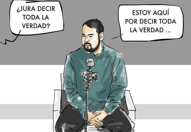 REPREXION Y MAS REPRESION CONTRA LA LIBERTAD DE EXPRESION. JUICIO A PABLO HASEL