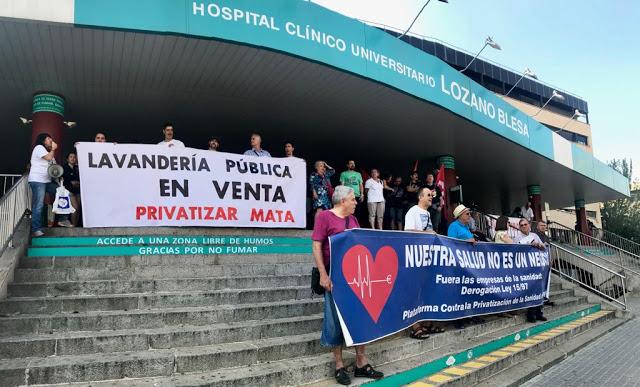 Más negocio para la sanidad privada, otra hazaña de Pilar Ventura