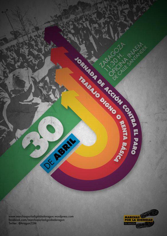 30 de abril. Jornada de acción contra el paro en Zaragoza