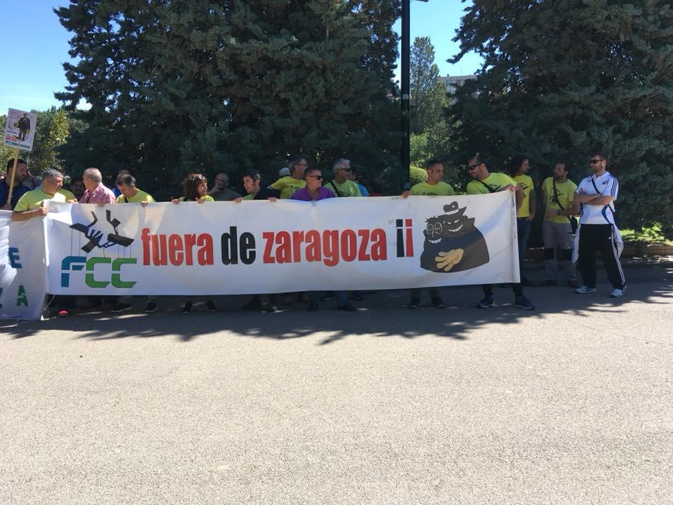 FCC, Jardineros en Lucha. 100% paros del 15 de Junio y Bicifestación miércoles 20 de Junio