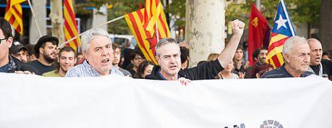 Aragón se solidariza con el pueblo Catalán, por el derecho a decidir y contra el régimen del78