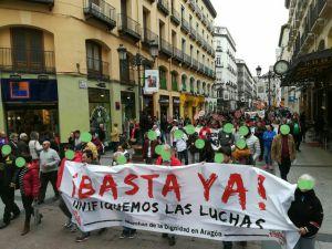"""Asamblea General de Marchas de la Dignidad Aragón,  Miércoles 18 de julio, 19:00 h en Centro Cívico  Delicias. """"Hacia un Otoño deLucha"""""""