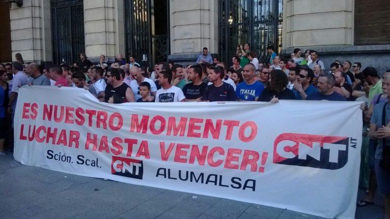El TSJA confirma la condena a Alumalsa: Deberá indemnizar a CNT y respetar los derechos de la sección sindical