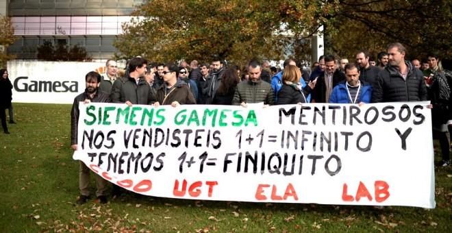Siemens Gamesa retira el ERE en España que afectaba a 272 trabajadores
