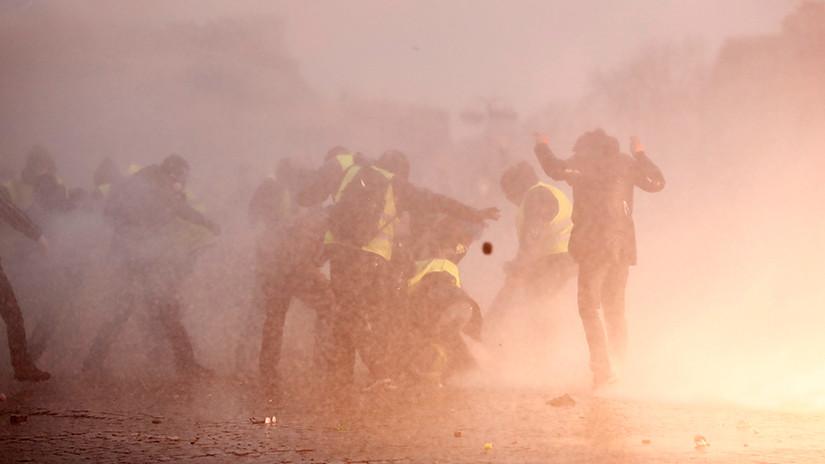La lucha es el único camino. Novena lucha en Francia de los Chalecos Amarillos