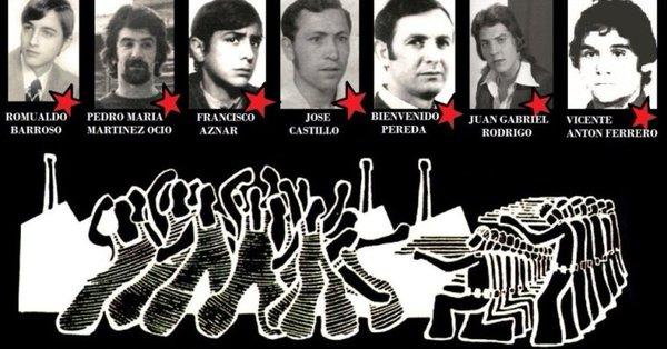 Asesinatos en Vitoria, 3 de Marzo de 1976. NUESTROS MUERTOS, NUESTRA LUCHA. 3 DE MARZO, NO PERDONAMOS, NO OLVIDAMOS