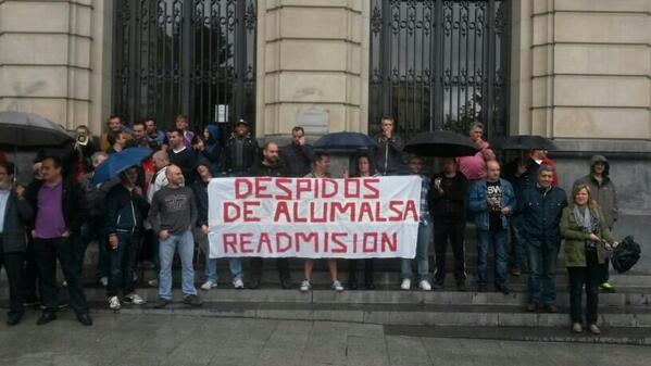El comité de empresa y la sección sindical de la CNT en Alumansa convocan huelga indefinida