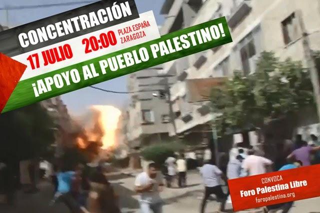 CONCENTRACIÓN EN APOYO A GAZA
