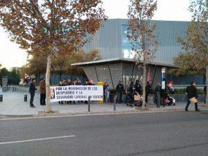 Zaragoza: Crónica de la concentración del 23 de diciembre en Dock39