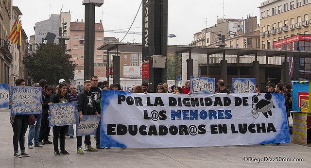 Educadores en Lucha anuncia que la huelga continuará con la nueva empresa
