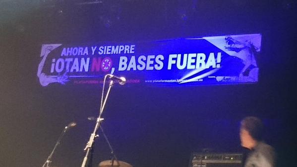COMUNICADO de la Plataforma Anti – OTAN de Zaragoza
