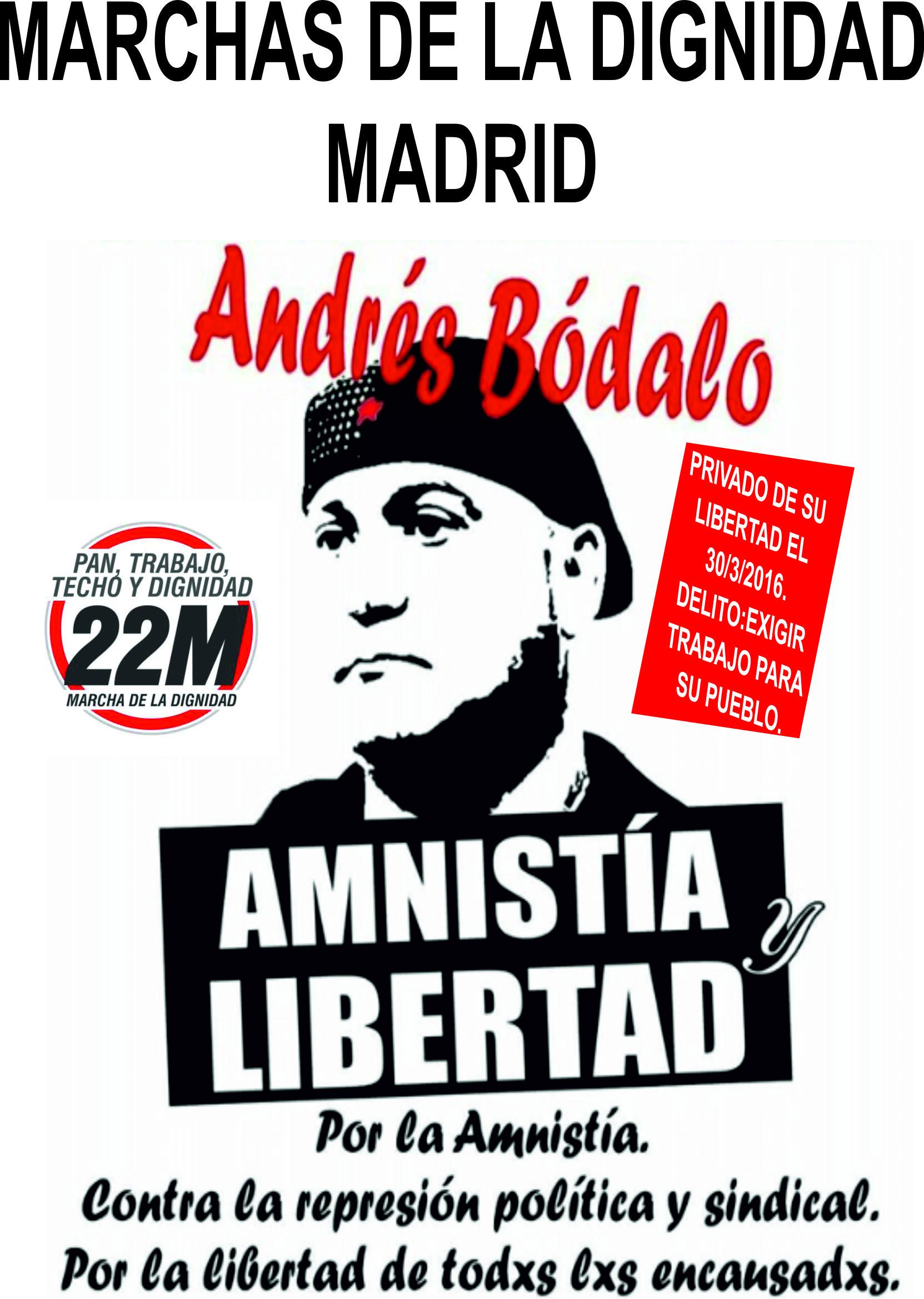 *#10DiasxAndrés*. Comunicado 10º día de huelga de hambre por la libertad de Andrés Bódalo