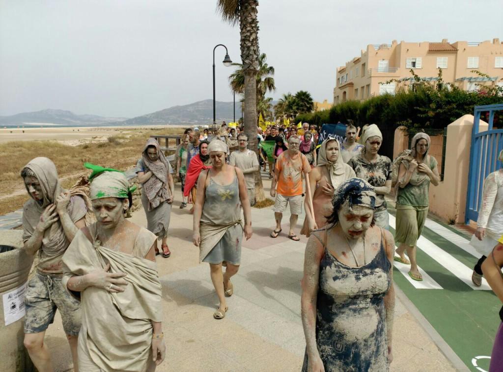 Ocho horas separan a la Caravana Abriendo Fronteras de su destino final, Melilla