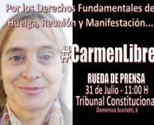 DEJAD DE CONDENAR A INOCENTES, SON PRESOS POLITICOS…