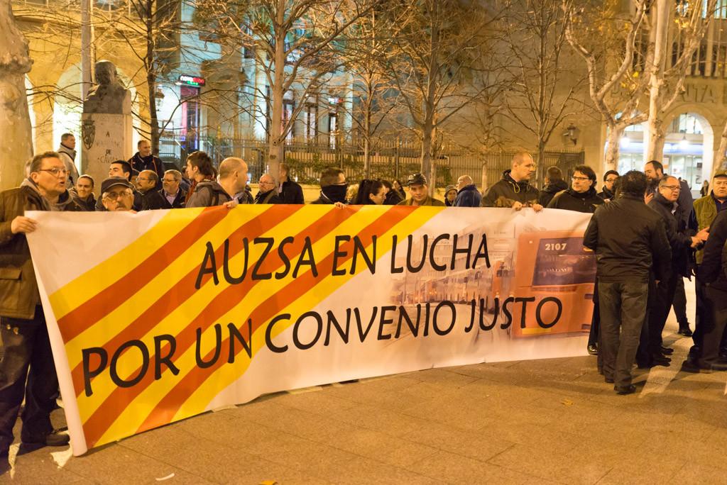 Movilizaciones en Avanza Zgz. ¡¡Municipalización YA!!