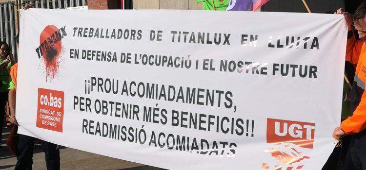 Manifiesto de solidaridad con las trabajadoras y trabajadores despedidos de la empresa Titanlux