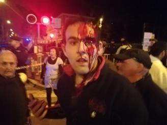 Brutal represión el 8 de Marzo en Murcia, al término de la  manifestación