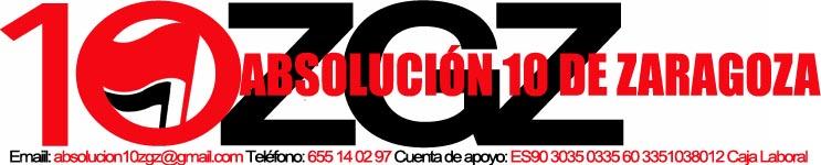 PRESENTACION PAGINA WEB, ABSOLUCION 10 DE ZARAGOZA