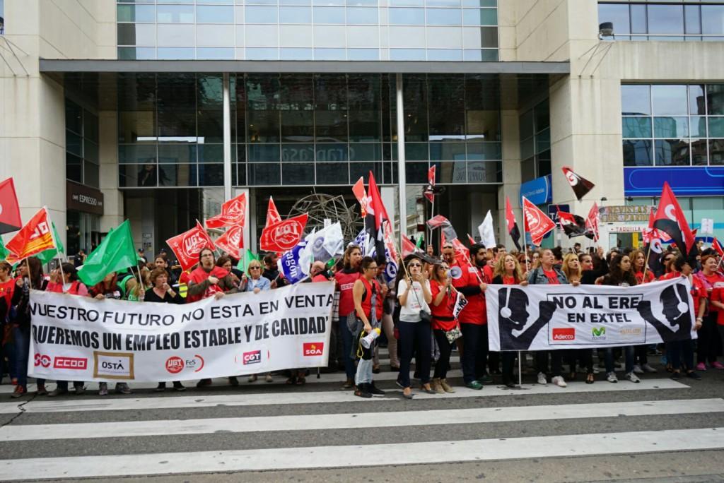 La lucha es el único camino. SOA retoma las huelgas de 24 horas en Extel