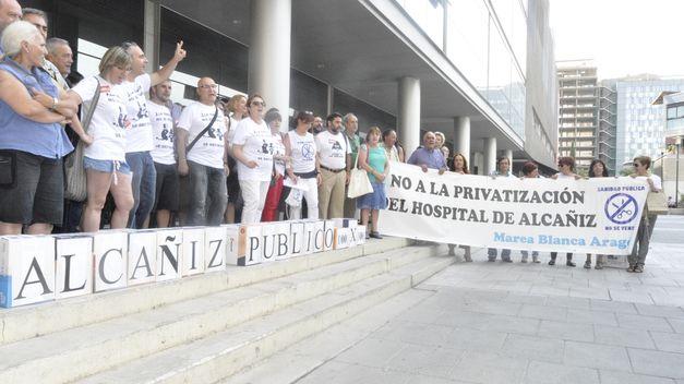 NUEVO HOSPITAL DE ALCAÑIZ: UN PASO MÁS HACIA LA PRIVATIZACION