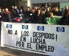 La plantilla de HP en Zaragoza decide convocar huelga indefinida