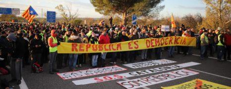 Segunda Huelga general en Catalunya en poco más de un mes. Crónica, fotos, videos.