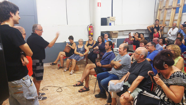 La Semana Cultural de Torrero brinda un cálido homenaje a Javier Grasa, por sus 40 años dedicados al barrio