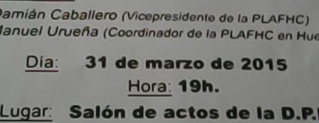 HEPATITIS C. CHARLA COLOQUIO EN HUESCA