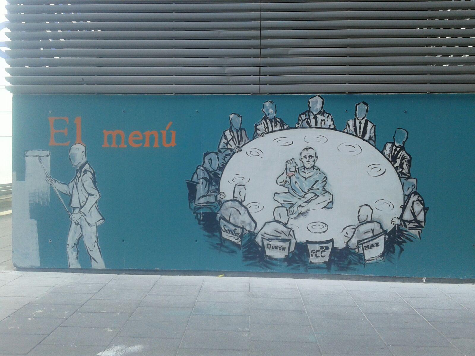 La Asamblea 15M no descarta tomar acciones legales por el borrado de un mural