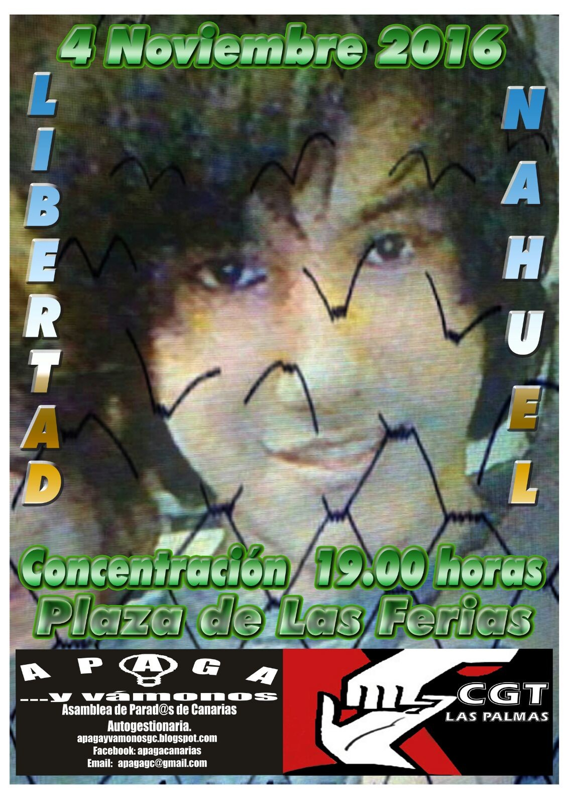 ¡¡¡NAHUEL LIBERTAD!!! ¡¡¡LIBERTAD PRES@S POLÌTIC@S!!!
