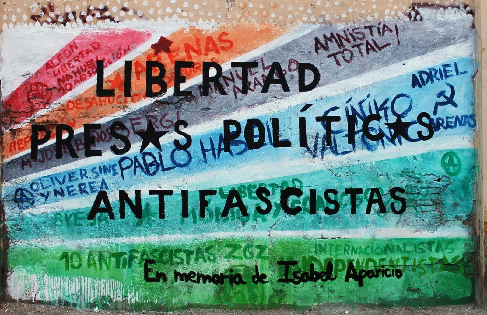 COMIENZA NOVIEMBRE ANTIFASCISTA 2016 EN ZARAGOZA. LIBERTAS PRESOS POLÍTICOS ANTIFASCISTAS