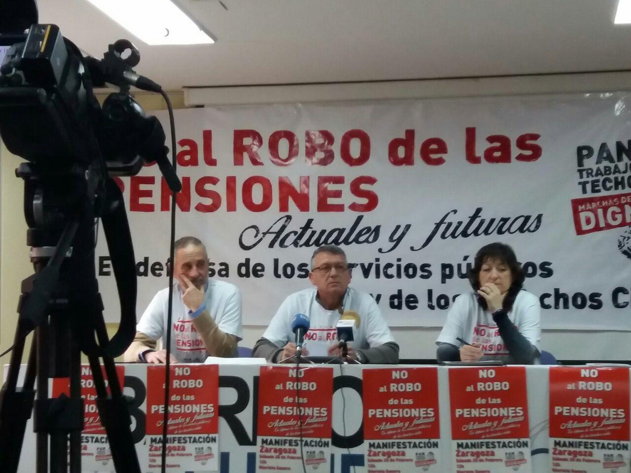 25F, Nota y rueda de prensa. ¡¡Volvemos a las calles el 25F!! NO al ROBO de las PENSIONES, actuales y futuras.