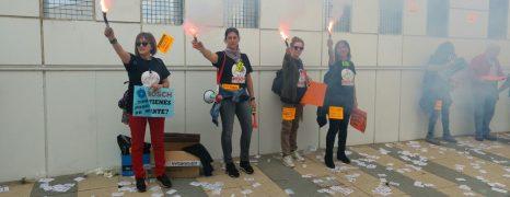 Movilizaciones por el empleo en Balay. Unidad de Trabajador@s