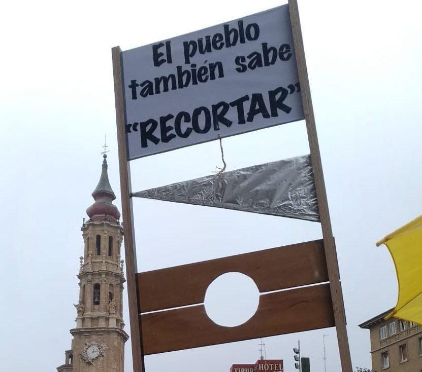 Fotos movilizaciones en Zaragoza. Por la defensa de las pensiones publicas y contra su represión