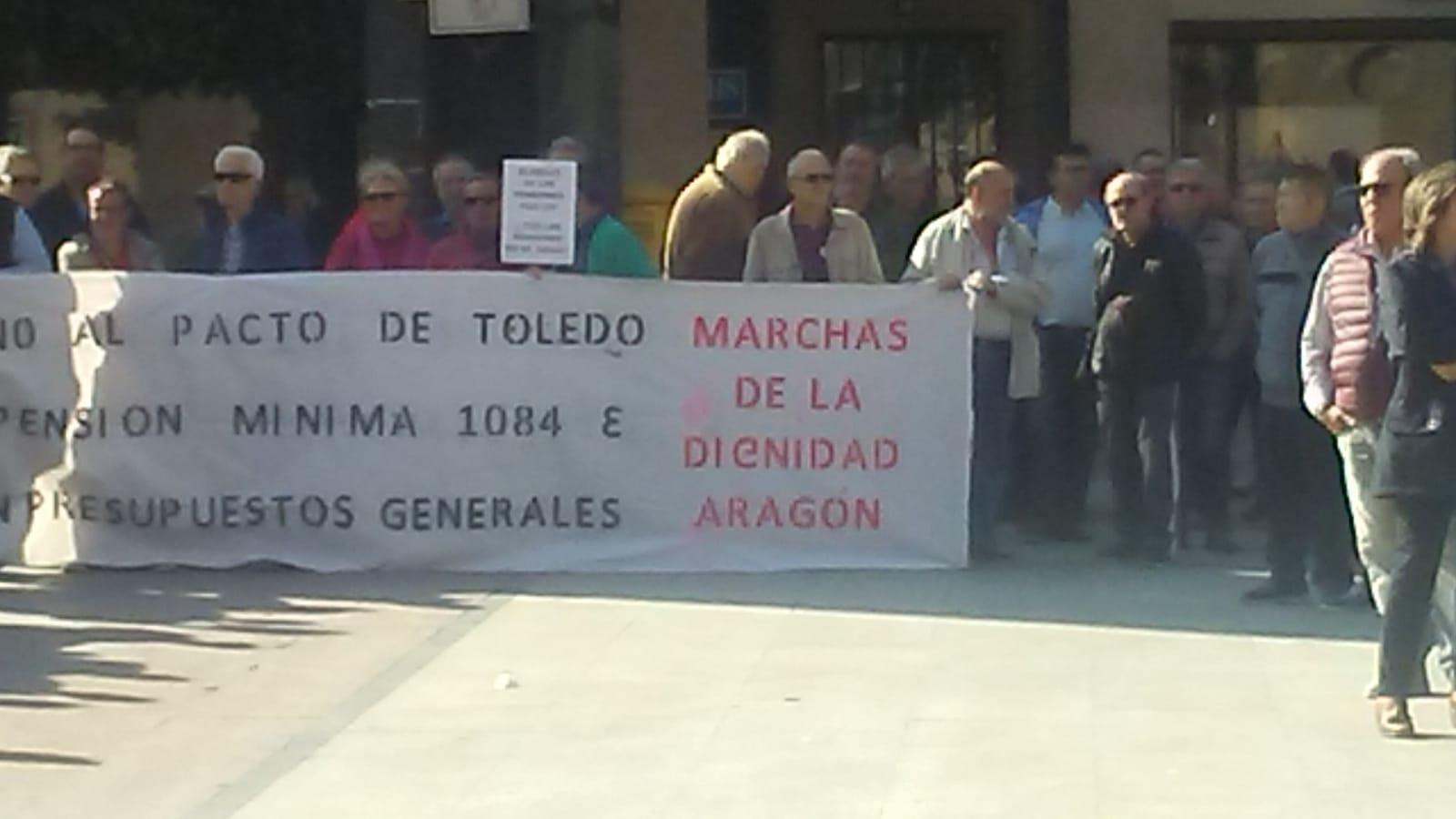 ¡Gobierne quien gobierne, las pensiones se defienden! Concentración 22/Octubre, Zaragoza. Fotos y video