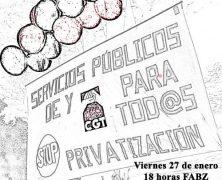 """Campaña """"Por lo público""""."""