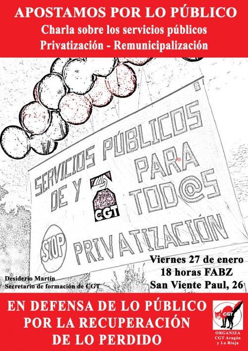 Campaña «Por lo público».