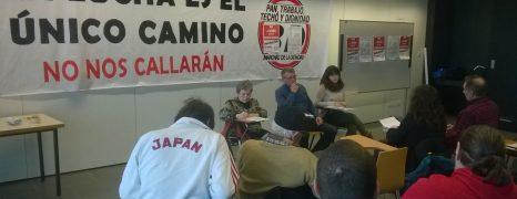 Fotos e información del Encuentro de movimientos sociales, políticos y sindicales en Aragón.