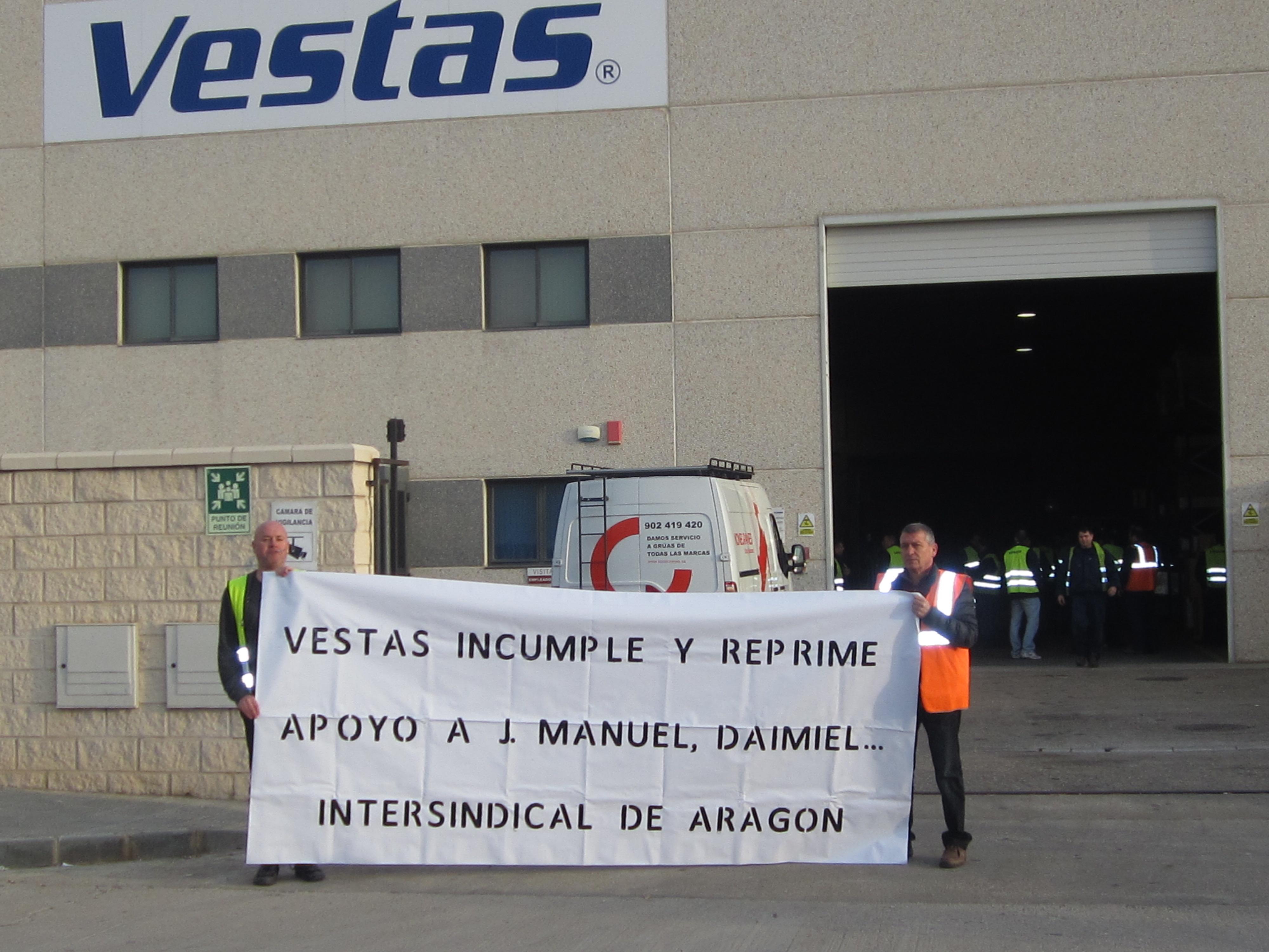 Negociación primer convenio colectivo Vestas Eólica.