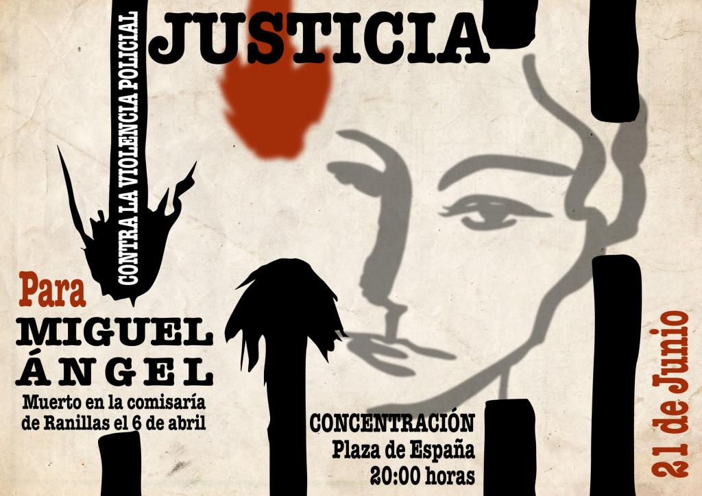 El 21 de Junio, volvemos a la Plaza de España. #JusticiaParaMiguelÁngel