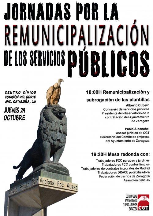JORNADAS DE REMUNICIPALIZACIÓN