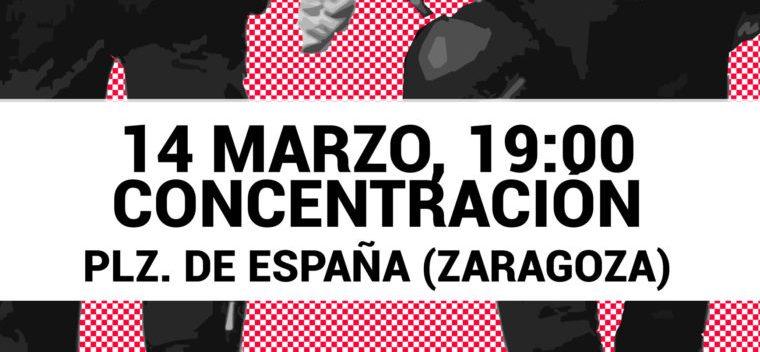 14 de Marzo: seguimos con Justicia Para Miguel Ángel. 19 horas, Plaza de España y Primer Aniversario de la muerte de Miguel Ángel.