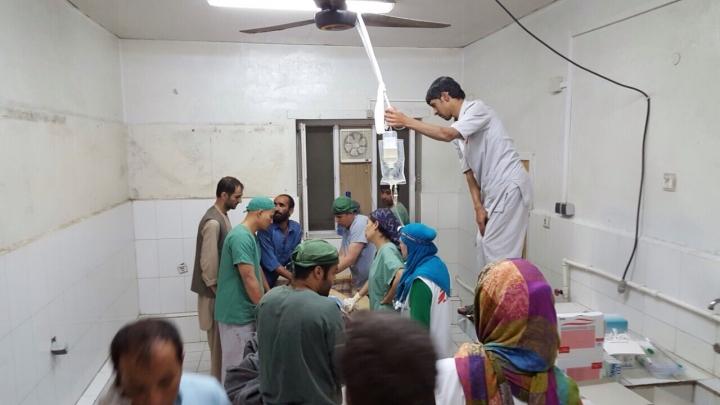 Enérgica queja de MSF con el gobierno de Afganistán tras el ataque de EEUU a su hospital en Kunduz