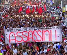Italia reconoce abusos contra manifestantes en cumbre del G-8 de 2001