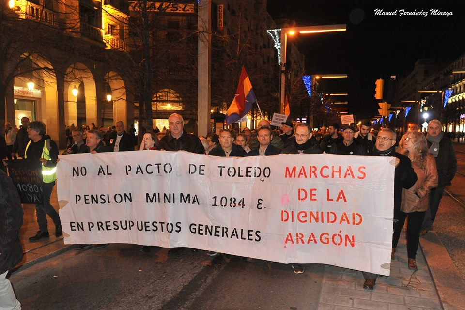 Manifestación en defensa sistema público de pensiones. Fotos, videos, noticias