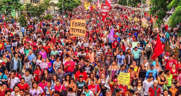 BRASIL. La huelga general contra la reforma laboral de Temer ya tiene fecha: 5 de diciembre