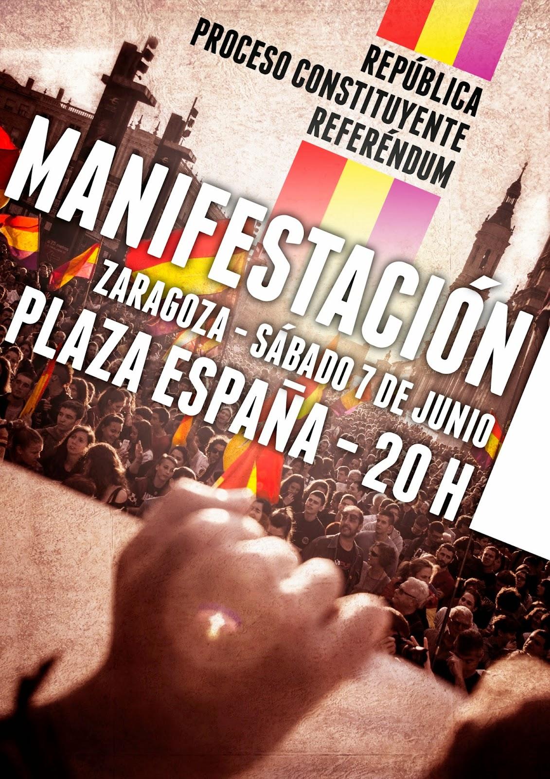 República – ¡Este sábado 7 de Junio a las calles!